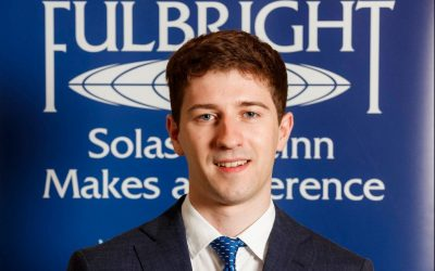 Oisin Kavanagh secures a Fulbright Irish Award