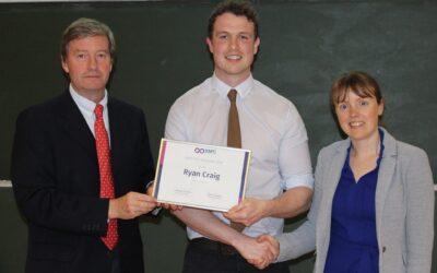 Meet SSPC PhD Graduate of the Year, Dr Ryan Craig