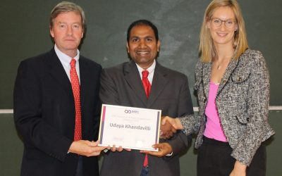 Dr Udaya Khandivilli awarded SSPC Education & Engagement Champion