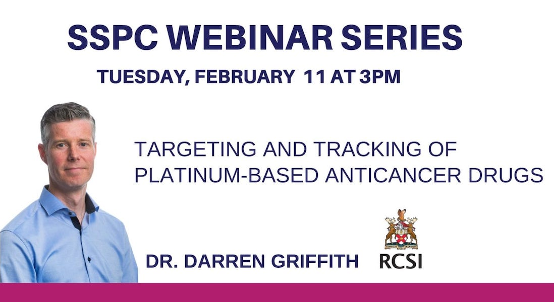 SSPC Webinar with Darren Griffith RCSI