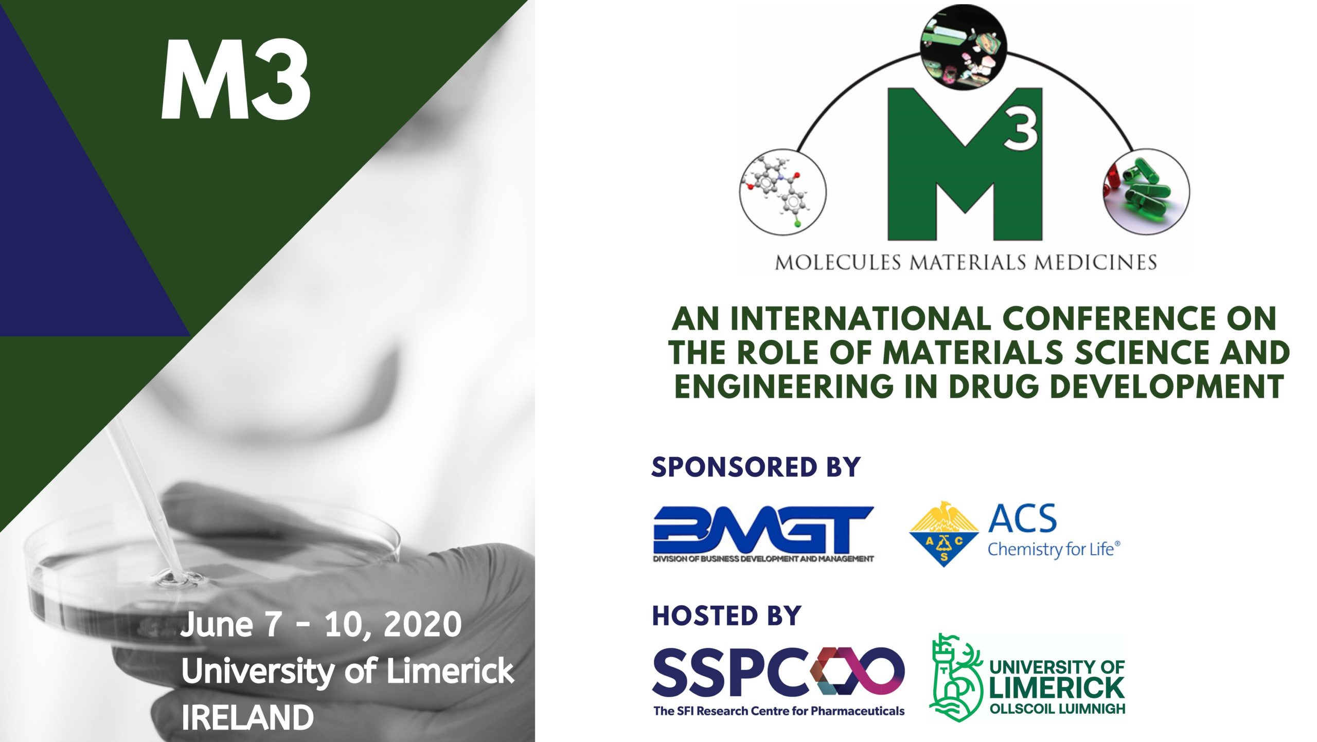 Postponed, M3 International Conference in Ireland