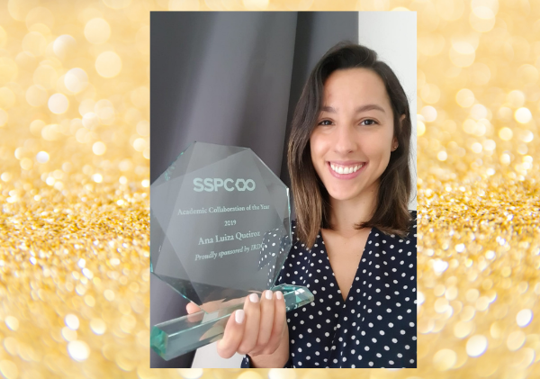 Ana Luiza Pinto Queiroz, SSPC Academic Collaboration of the Year