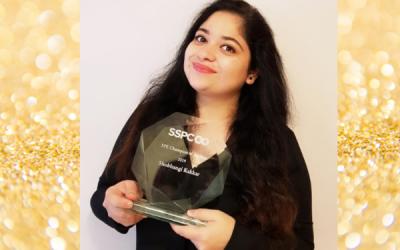 Shubhangi Kakkar, SSPC Education & Public Engagement Champion of the Year