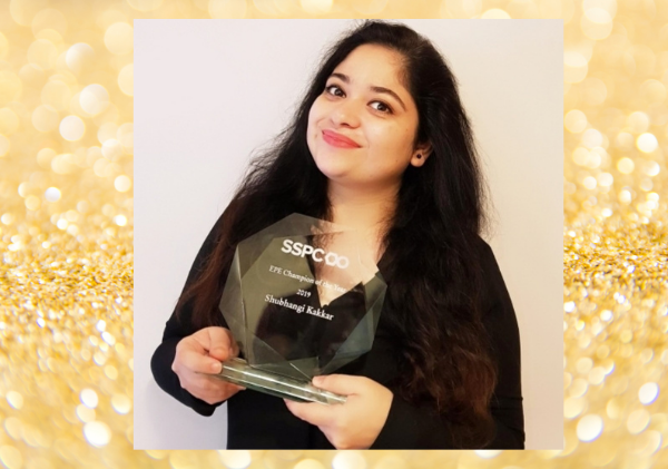 Shubhangi Kakkar, SSPC Education & Public Engagement Champion of the Year