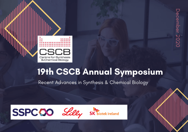 SSPC sponsors 4 ECR talks at the 19th Annual CSCB Symposium 2020