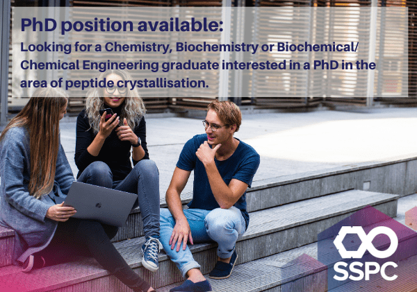 Looking for a Chemistry, Biochemistry or Biochemical/Chemical Engineering graduate