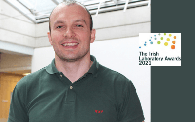 Luis Padrela wins Laboratory Scientist of the Year
